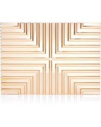 Lee Savage - Metallic Plated Brass Clutch - Lyst