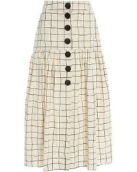 WHIT - Charlie Unbleached Skirt - Lyst