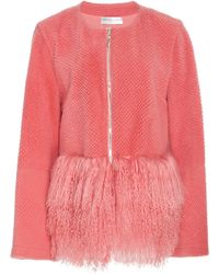 Madiyah Al Sharqi - Fur Trimmed Jacket - Lyst