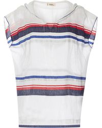 lemlem - Meron Sleeveless Striped Hoodie - Lyst