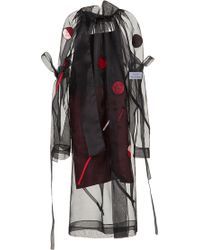 Atelier Kikala - Mock Neck Embroidered Dress - Lyst
