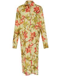 Lenny Niemeyer - Rustic Button-down Shirt Dress - Lyst