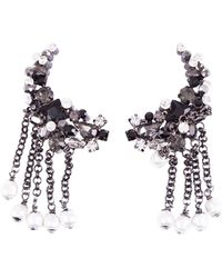 Dorothee Schumacher - Rock Glam Chain Drop Clip Earrings - Lyst