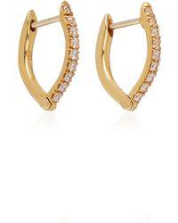 Melissa Kaye - Cristina 18k Gold Diamond Earrings - Lyst
