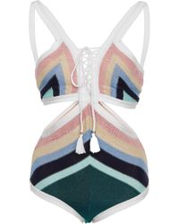 Suboo - Paradiso Lace Front One Piece - Lyst