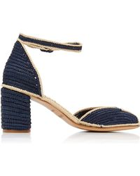 Carrie Forbes - Laila Raffia Sandals - Lyst