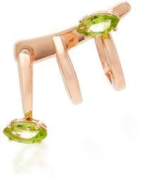 Bea Bongiasca | Gloriosa Lily 9k Rose Gold Spiral Earring | Lyst