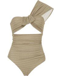 Marysia Swim - Venice One-shoulder Swimsuit - Lyst