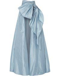 Marchesa - Silk Taffeta A-line Ballgown Overskirt - Lyst