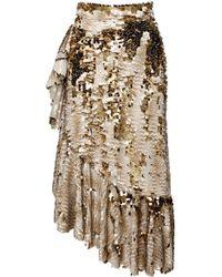 Anouki | Sparkly Gold Skirt | Lyst