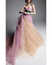 Vera Wang - Alexandria A-line Gown - Lyst