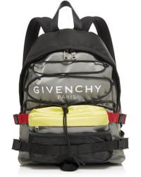 a8361fbbb4f Givenchy - Urban Backpacks Color-blocked Shell Backpack - Lyst