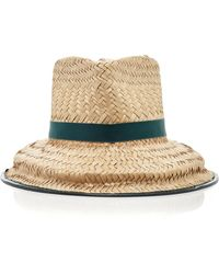Tory Burch - Structured Basket-weave Hat - Lyst