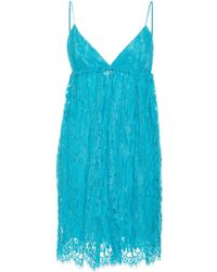 Michael Kors - Lace Babydoll Dress - Lyst