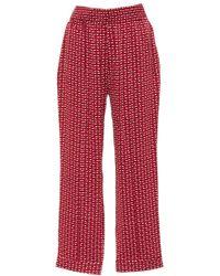 Asceno - Tailored Silk Trouser - Lyst