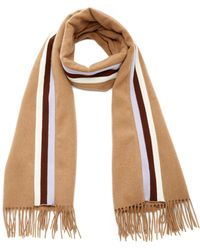DONNI. - Racer Striped Wool Scarf - Lyst
