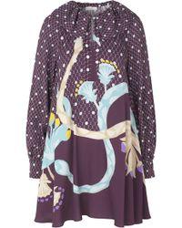 Stine Goya - Vini Collared Mini Dress - Lyst