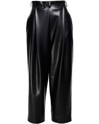 ANOUKI - Faux Leather Culottes - Lyst