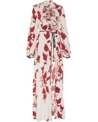 Johanna Ortiz - Cape Of Good Hope Silk Crepe Kimono - Lyst