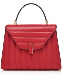 Valextra - Iside Medium Quilted Leather Bag - Lyst