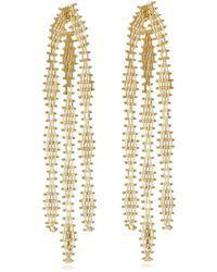 Rosantica - Voluttà Gold-tone Brass Earrings - Lyst