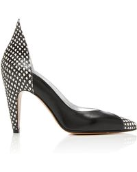 Givenchy - Paneled Leather Pumps - Lyst