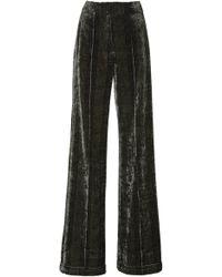 Jonathan Simkhai - Lacy Velvet Newton Trousers - Lyst