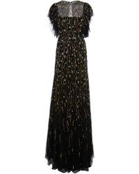 Rachel Gilbert - Katinka Organza Embroidered Gown - Lyst