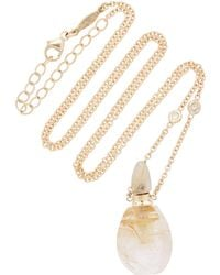 Jacquie Aiche - Small Aladdin Rutilated Quartz Potion Bottle Necklace - Lyst