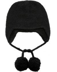 The Elder Statesman - Exclusive Handspun Ear Flap Cap - Lyst