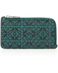 Loewe - Puzzle Leather Card Holder - Lyst