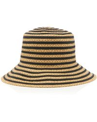 6ab105e9d3e63 Lyst - Eric Javits  gg Dame Ii  Packable Sun Hat in Black
