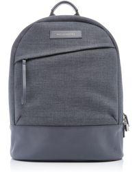 Want Les Essentiels De La Vie - Kastrup Grey Canvas Backpack - Lyst