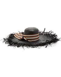 Gigi Burris Millinery - M'o Exclusive Shaded Stripe Hat - Lyst