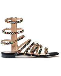 Sergio Rossi - Kimberly Multicolour Stone Sandal - Lyst