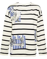 Swash London - Meoldy Obsidian Patched Marinier Top - Lyst