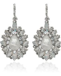 Marchesa - Casa Blanca Earrings - Lyst