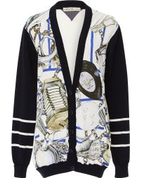 Swash London - Meoldy Obsidian Classic Cardigan - Lyst