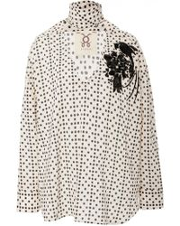 Figue - Melina Long Sleeve Cotton Top - Lyst