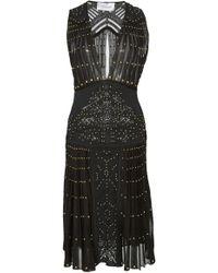 Zuhair Murad - Nimphea Studded Mini Dress - Lyst