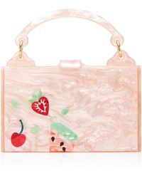 Edie Parker - Small Inlay Housewife Bag - Lyst