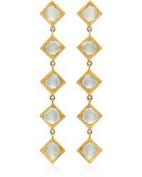 Amrapali - Kundan 18k Gold And Diamond Earrings - Lyst