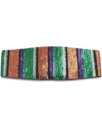 Missoni - Striped Sequined Headband - Lyst