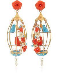Of Rare Origin - 18k Gold Vermeil Multi-stone Earrings - Lyst