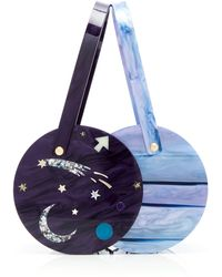 Edie Parker - Planet Inlay Acrylic Double Shot Bag - Lyst