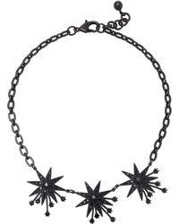 Lulu Frost | Nova Star Brass And Glass Stone Necklace | Lyst