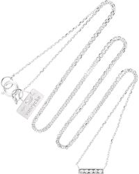 Vanrycke - Medellin 18k White Gold Diamond Necklace - Lyst