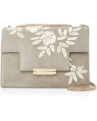 Aerin - Embroidered Shoulder Bag - Lyst