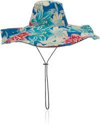 Etro - Tropical Print Sun Hat - Lyst