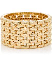 Sidney Garber - Yellow Gold Mosaic Bracelet - Lyst
